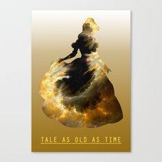 Space Princesses: Belle Canvas Print