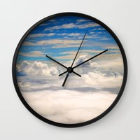 When I Had Wings II Wall Clock