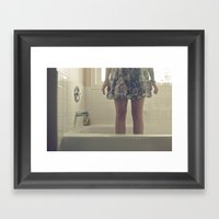 Out of Place Framed Art Print