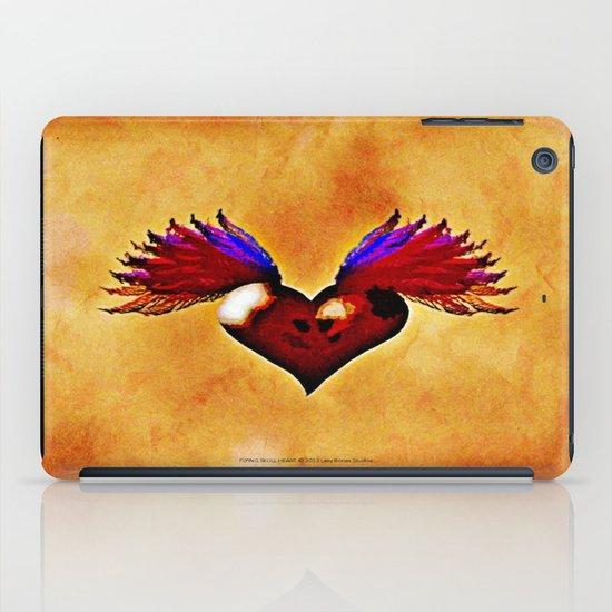 FLYING SKULL HEART iPad Case
