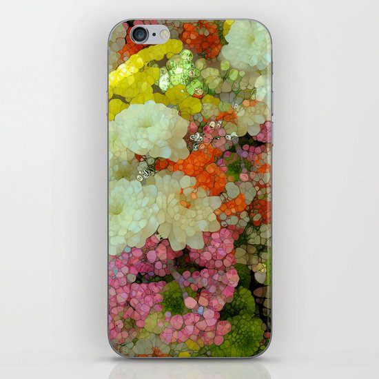 Joyous Spring Bouquet iPhone & iPod Skin