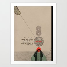 Eight Art Print