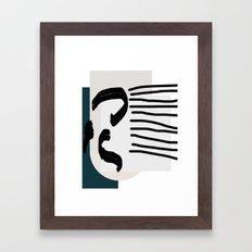 Cant explain Framed Art Print