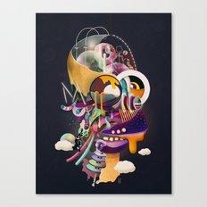 HOMER ON ACID Canvas Print