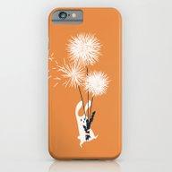 Bunny And Dandelion Bouq… iPhone 6 Slim Case