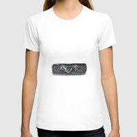 Grill Womens Fitted Tee White SMALL