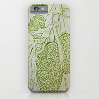 iPhone Cases featuring Breadfruit by ANoelleJay