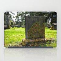 Cemetery Beauty iPad Case