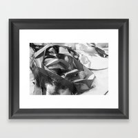 Lost On Shore Framed Art Print