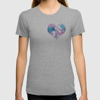 Your Love is Sweet Like Candy Womens Fitted Tee Athletic Grey SMALL