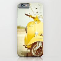 iPhone & iPod Case featuring Mod Style in Yellow by Hello Twiggs