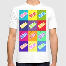 NES  Mens Fitted Tee White SMALL