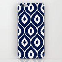 Leela Navy iPhone & iPod Skin