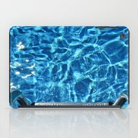 Swimming pool iPad Case