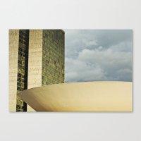 Brasilia, Brazil Archite… Canvas Print