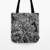 Overtime At The Power St… Tote Bag