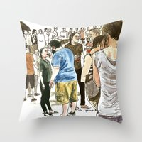 After It Rained At McCar… Throw Pillow