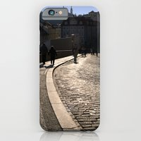 Cobbled Street Near Prag… iPhone 6 Slim Case