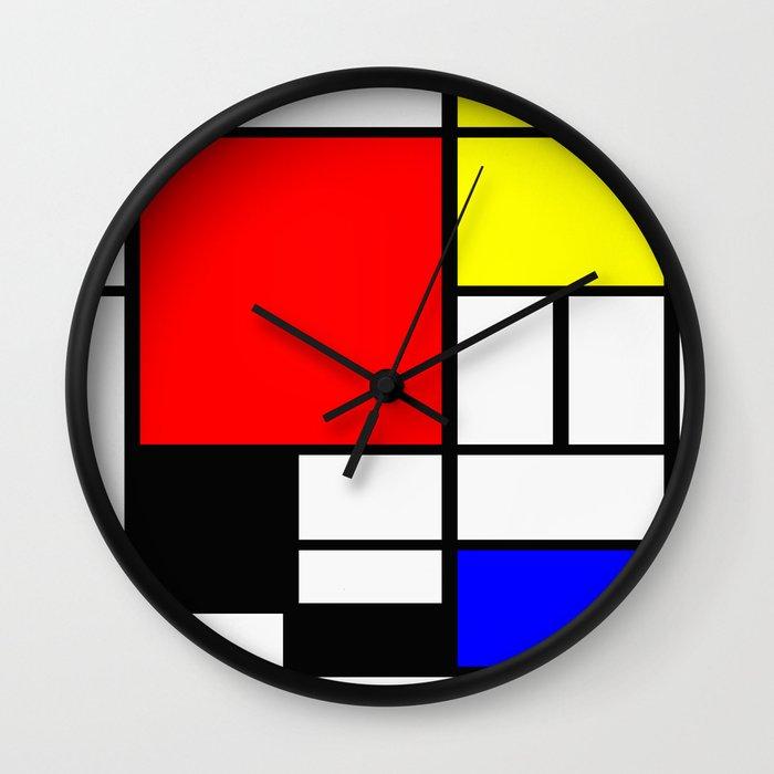 Wall Clock Artwork : Art wall clock
