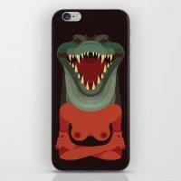 Wildlife - Crocodile iPhone & iPod Skin