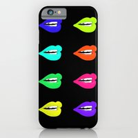 iPhone & iPod Case featuring Lips by Kamiledesigns