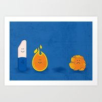 Four Is The Magic Number… Art Print