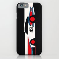 iPhone & iPod Case featuring Moby Dick - Vintage Porsche 935/70 Le Mans Race Car by Cale Funderburk