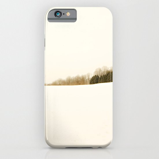 Field of snow iPhone & iPod Case