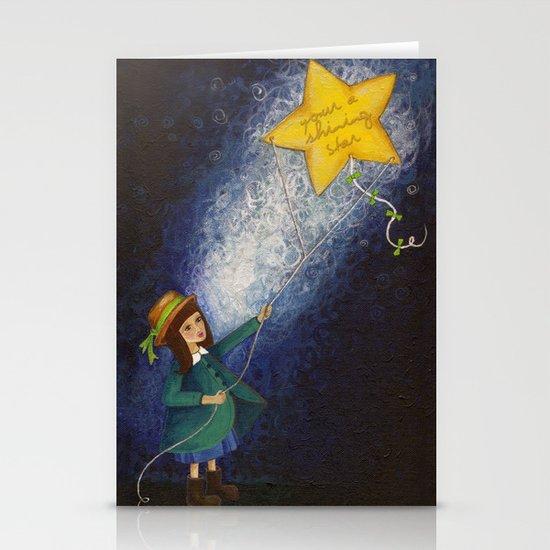 Shining Star Stationery Card