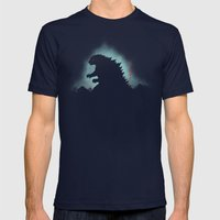 The Apex Predator Mens Fitted Tee Navy SMALL