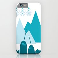 iPhone & iPod Case featuring Heart the Narwhal by Michelle Reaney