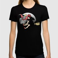 Seen About Everything Womens Fitted Tee Black SMALL