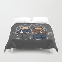 The Brickchesters Duvet Cover