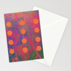 Dotted Abstract Stationery Cards