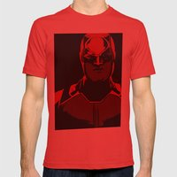 Without Fear Mens Fitted Tee Red SMALL