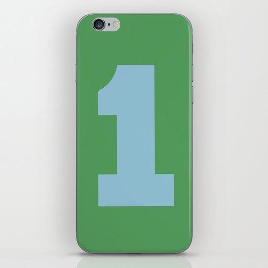 Number 1 iPhone & iPod Skin