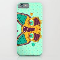 iPhone Cases featuring Catterfly by badOdds