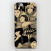 Tribute to Madge Gill - Outsider Artists iPhone & iPod Skin