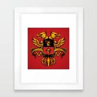 Crest De Chocobo Framed Art Print