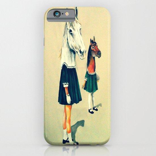 Scholar Horses iPhone & iPod Case