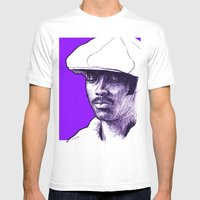 Donny Hathaway Mens Fitted Tee White SMALL