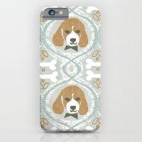 iPhone & iPod Case featuring dapperific dog by ottomanbrim