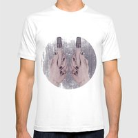 Smart Hands Mens Fitted Tee White SMALL