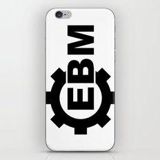 EBM  iPhone & iPod Skin