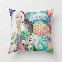 Spirit Fruit Throw Pillow