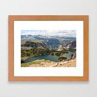 Beartooth Pass Lookout Framed Art Print
