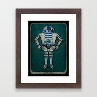 R2 3PO Framed Art Print
