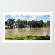 Flooded Plains Art Print