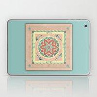 Terra and Turquoise Possibilities Mandala Laptop & iPad Skin