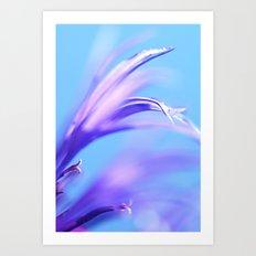 flower dance III Art Print